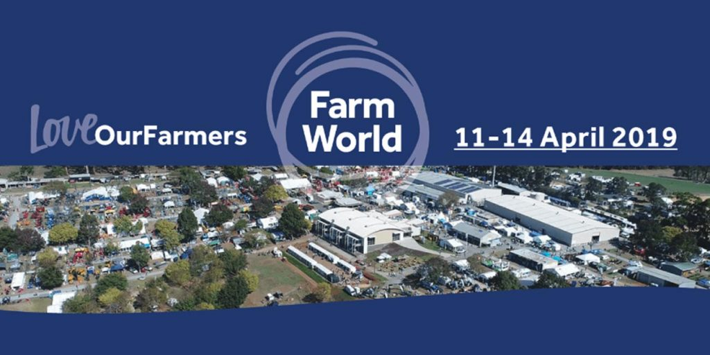 Visit us at Farm World 2019!