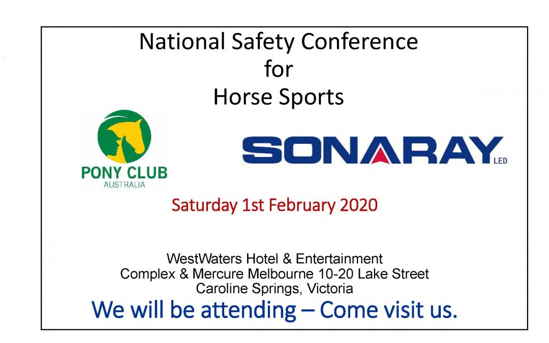 See us at the National Safety Conference for Horse Sports